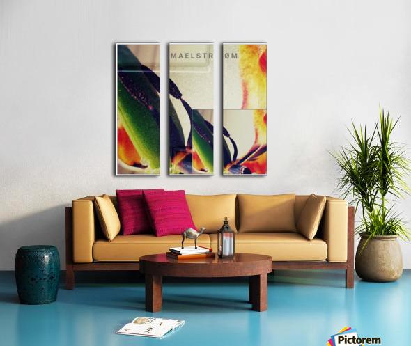 R_PUNKS_LYS Split Canvas print