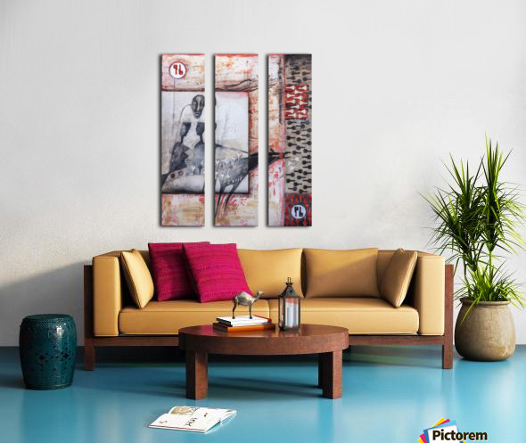 The key Split Canvas print