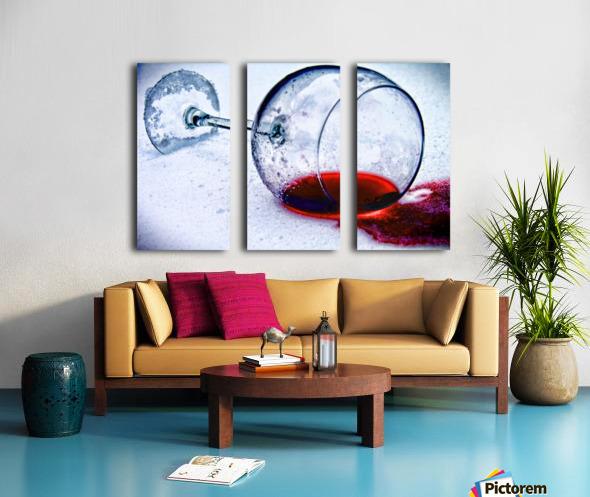 Wine Art 3 Split Canvas print