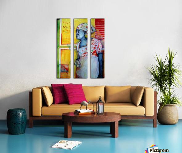 The wait Split Canvas print