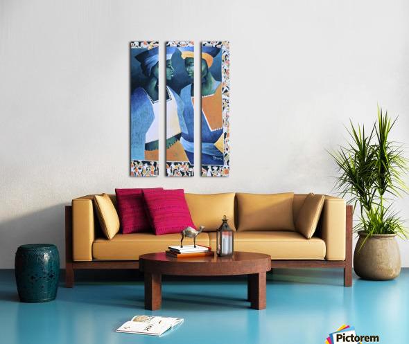 secrets damies Split Canvas print