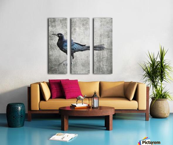 The Crow Split Canvas print