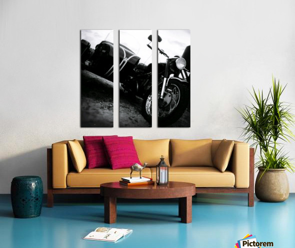 For the Love of Classic Split Canvas print