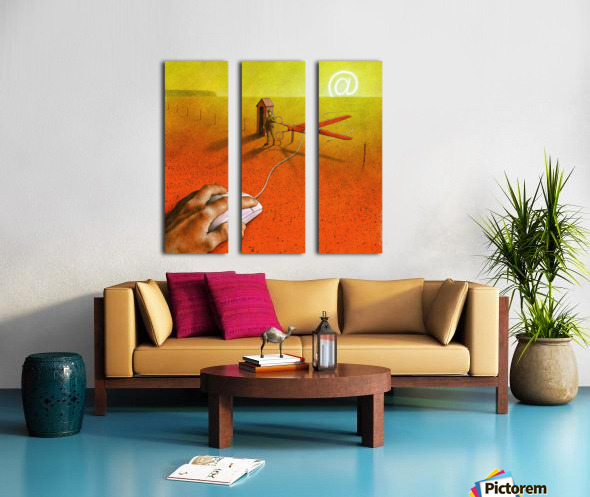 PawelKuczynski63 Split Canvas print