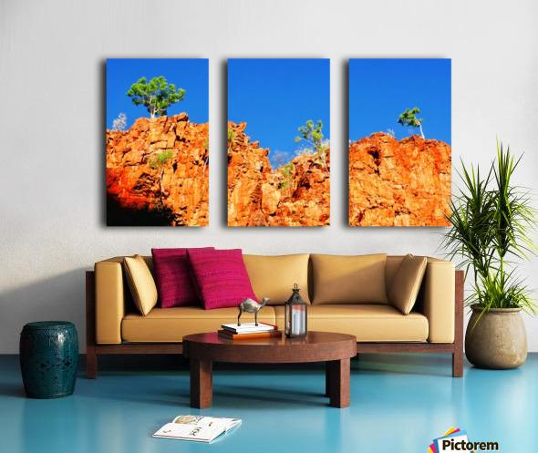 Skyline - Ormiston Gorge Split Canvas print