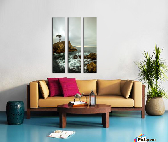 stormy Split Canvas print