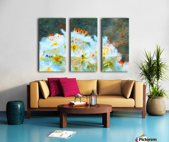 Blossom In A Storm Split Canvas print