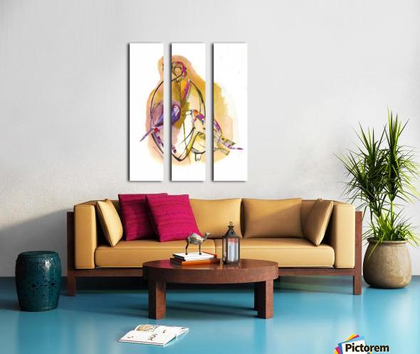 Kreol maghribia_6 Split Canvas print