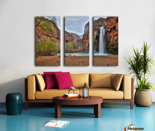 Miles Away From Ordinary Split Canvas print