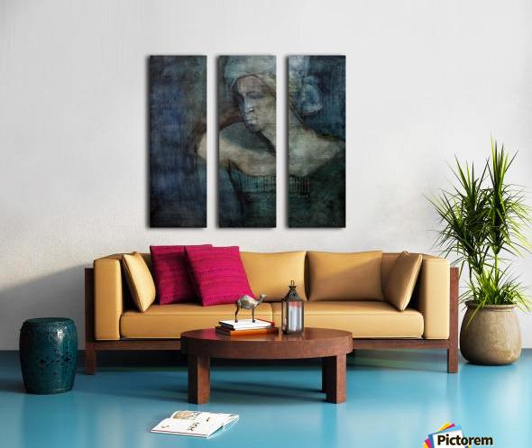 Woman of all trades Split Canvas print