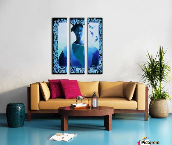 Valse des illusions Split Canvas print