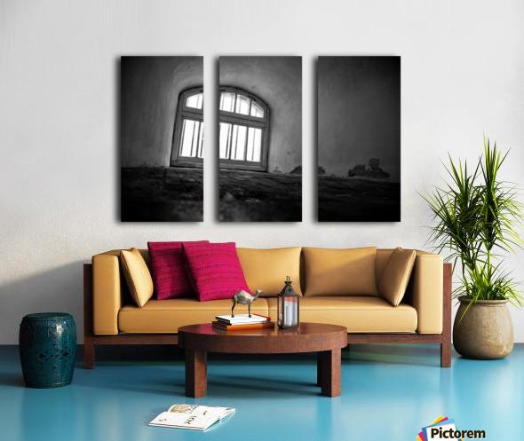 Prisoners View Split Canvas print