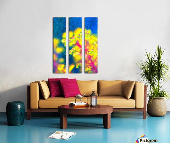 In The Garden Split Canvas print