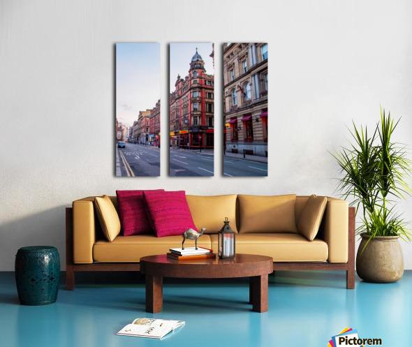 Liverpool street Split Canvas print