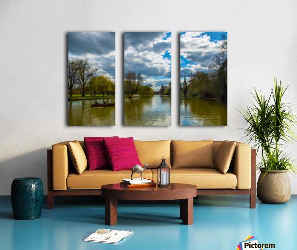 Stratford-Upon-Avon River Split Canvas print