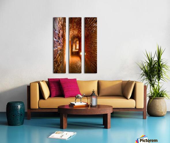 Southsea Castle Tunnels Split Canvas print