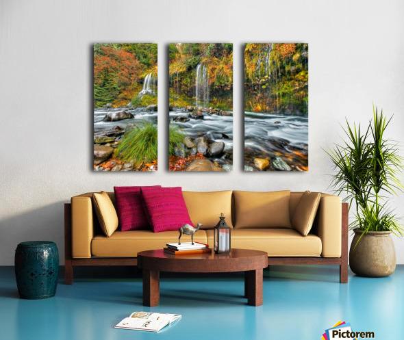 ColorFall Split Canvas print