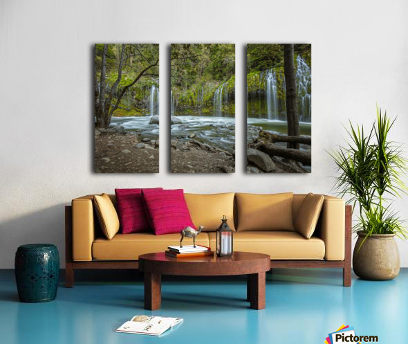 Secret Location Split Canvas print