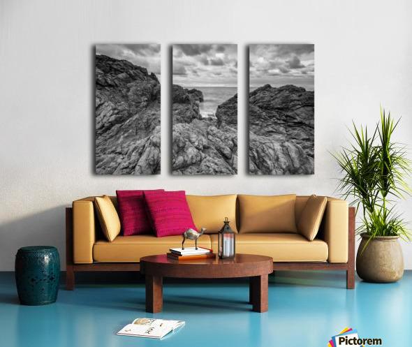 Rock of Ages Split Canvas print