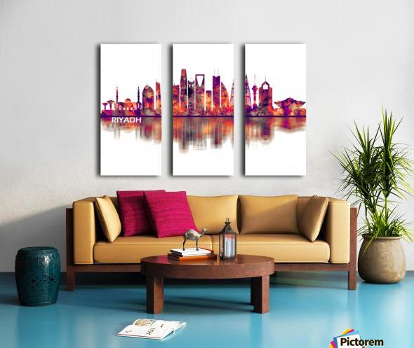 Riyadh Saudi Arabia Skyline Split Canvas print