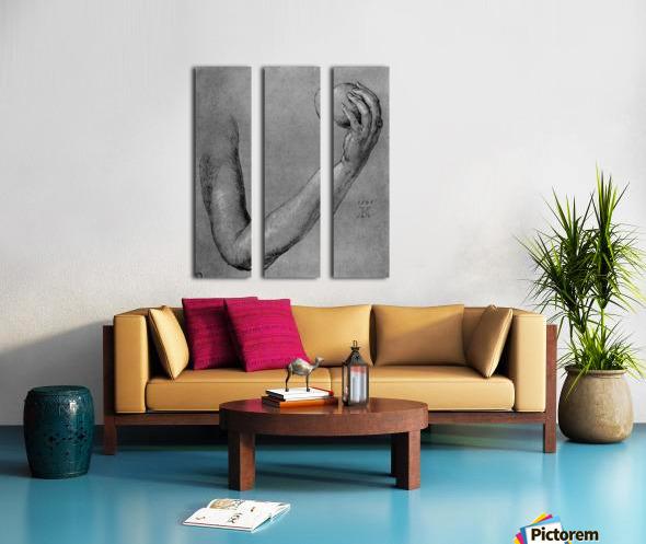 Arm of Eve Split Canvas print