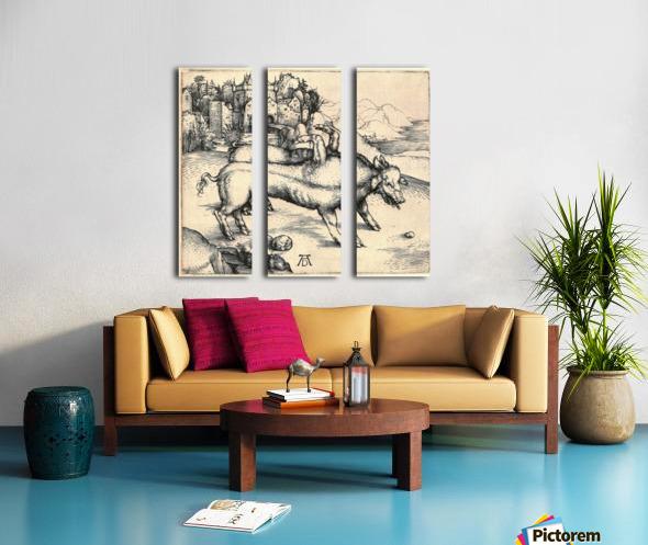 Monstrous Sow of Landser Split Canvas print
