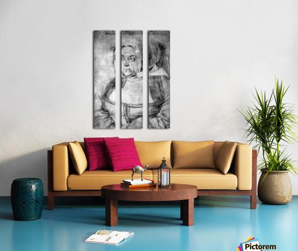 Agnes Durer in Dutch Tracht Split Canvas print