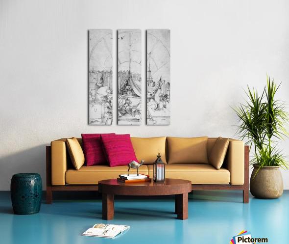 Birth of Mary Split Canvas print