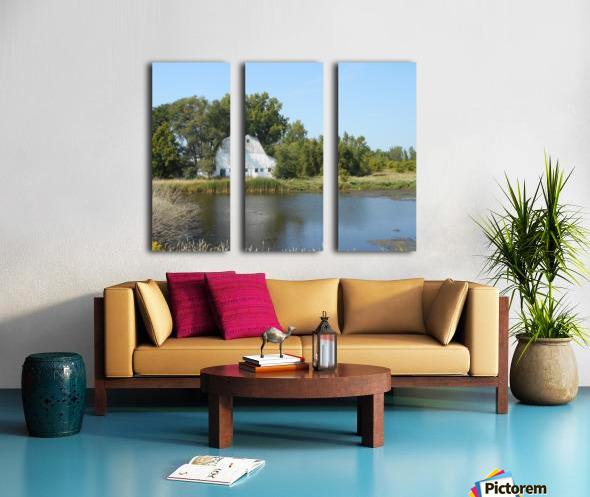 Peaceful Pond Split Canvas print