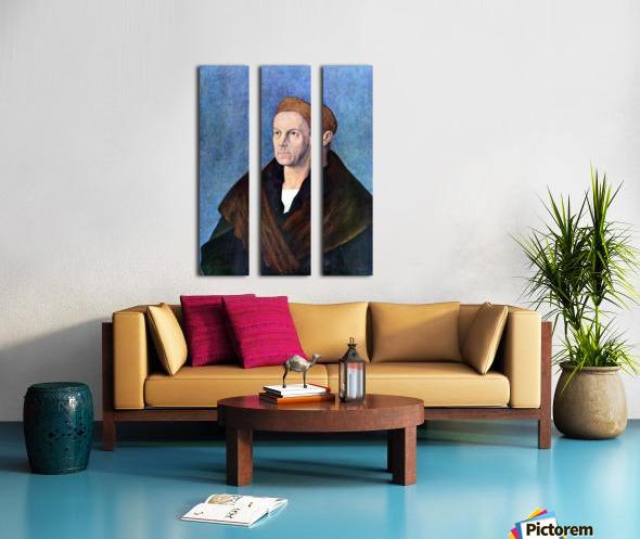 Jacob Fugger Split Canvas print