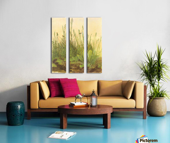 The large turf Split Canvas print
