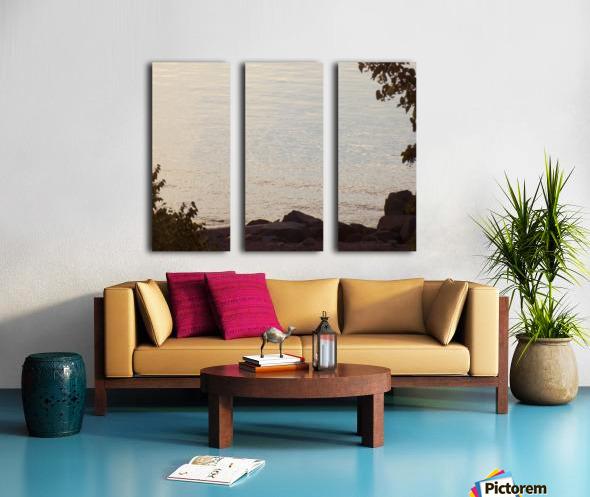 Rocky Shore 1 Split Canvas print