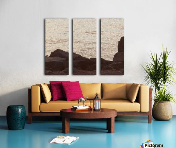 Rocky Shore 2 Split Canvas print