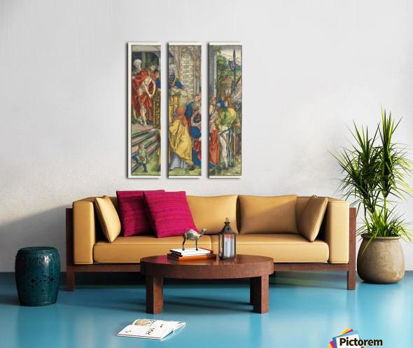 Here is Christ Split Canvas print