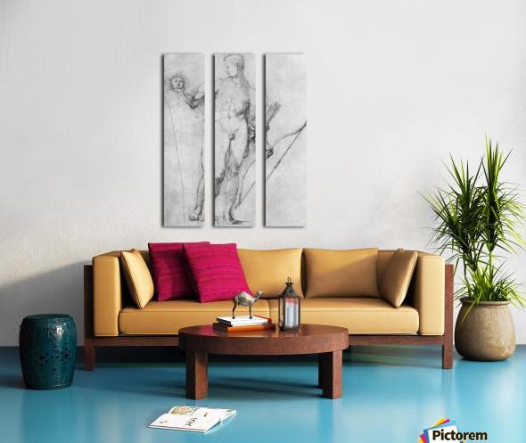 Apollo Split Canvas print