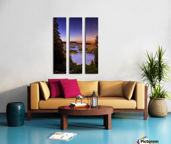 Twin Magic Split Canvas print
