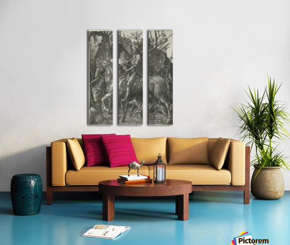 German knight Split Canvas print