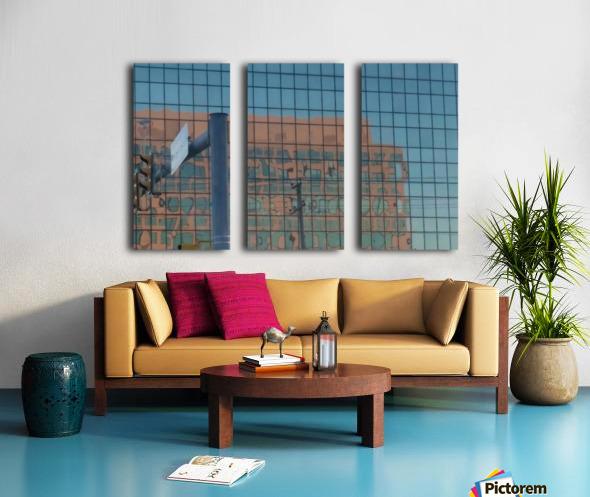Art Photograph Split Canvas print