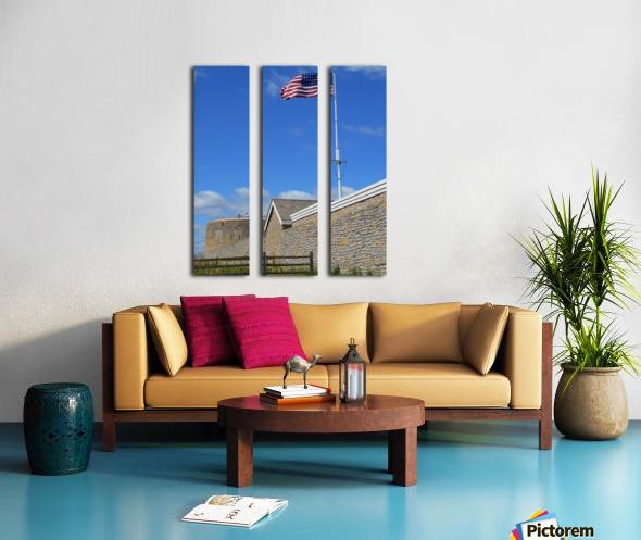 Historic Fort Snelling Split Canvas print