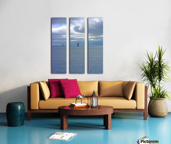Tall Ships Vista Split Canvas print