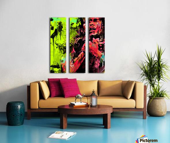 Bmarley3 Split Canvas print