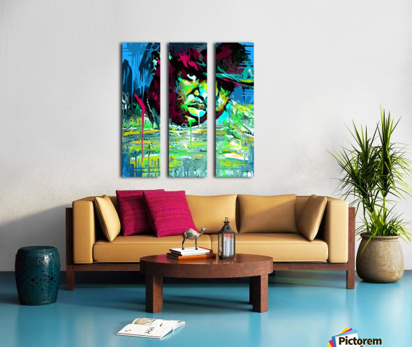 big3 Split Canvas print