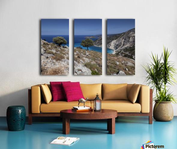 The Greek island of Kefalonia Split Canvas print