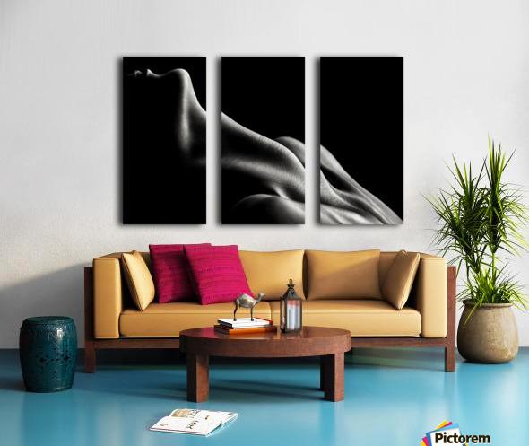 Figurative Body Parts 3 Split Canvas print