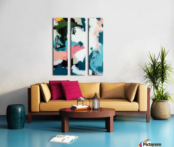 Fantasy in Color Split Canvas print