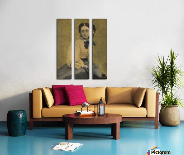 Princess Pauline de Metternich Split Canvas print