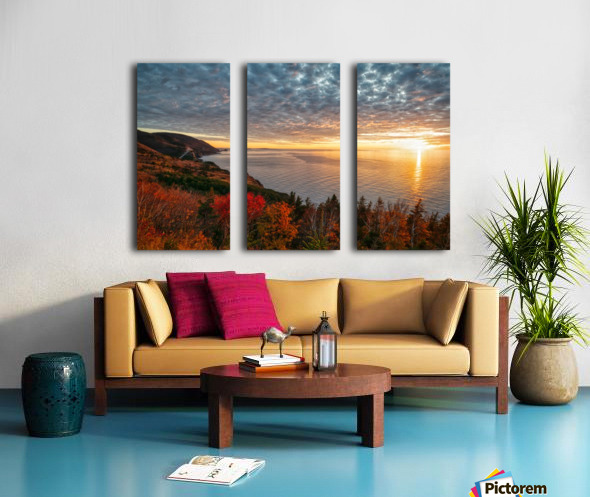Autumn Glory Split Canvas print