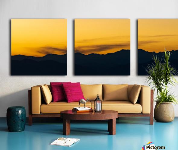 Aurora Westward 1 Split Canvas print
