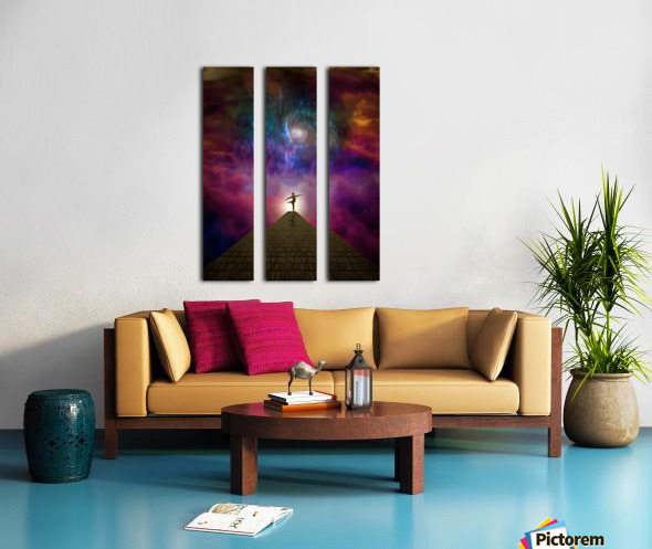 Dancer Split Canvas print