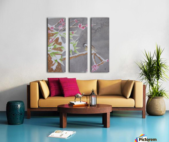 Shelter Split Canvas print